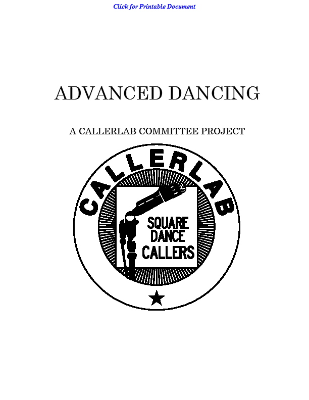 What is Advanced Dancing